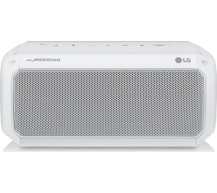 LG PK3W XBOOM Go Portable Bluetooth Speaker - White