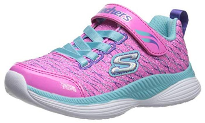 Skechers Girls Move 'N Groove Sparkle Spinner Trainers