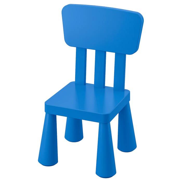 Children's Chair, In/outdoor, Blue