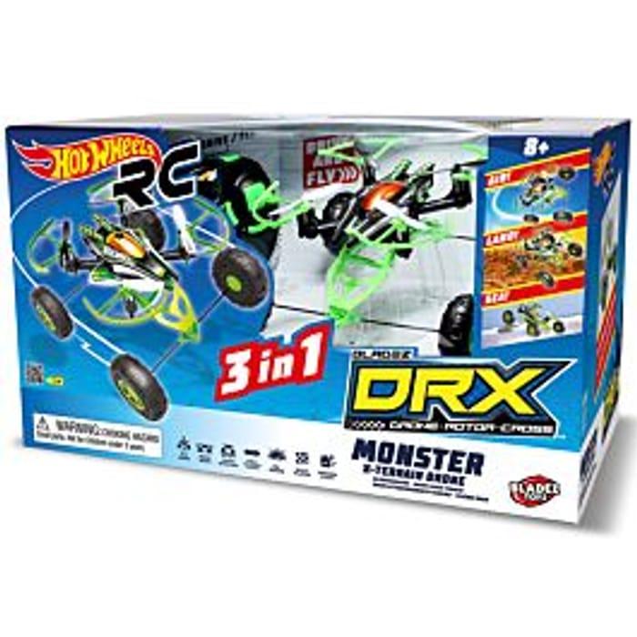 Cheap Hot Wheels Monster X-Terrain Drone Only £24.99!