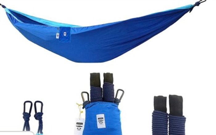 Two Person Hammock Inc. Steel Carabiners / Rope / Tree Straps £9.99