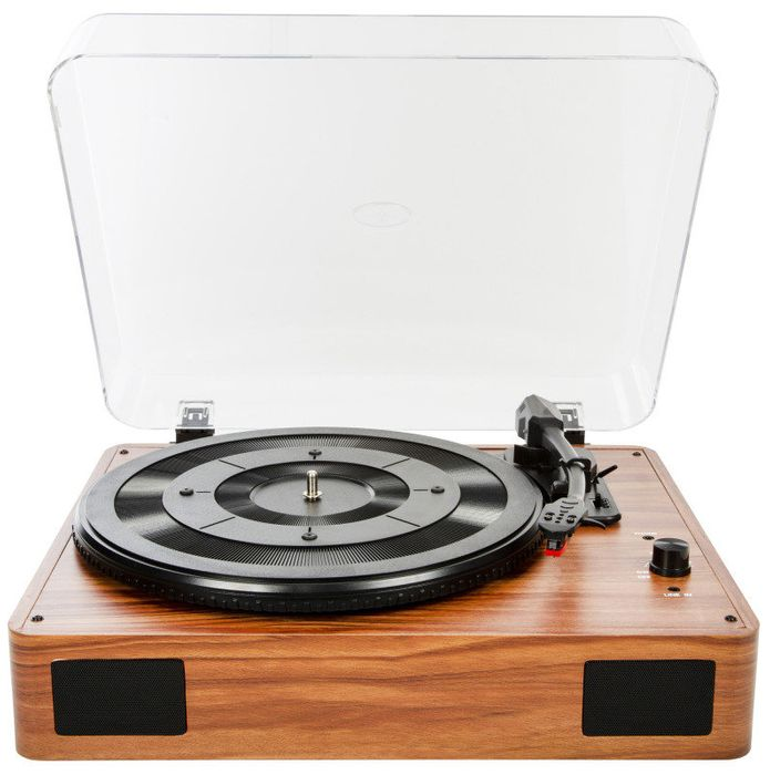 Turntable with Built in Speakers