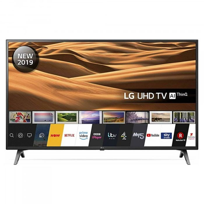 """*SAVE £50* LG 43"""" UHD 4K HDR SMART TV with Freeview Play"""