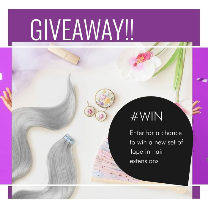Win a Brand New Set of Tape-in Hair Extensions of Your Choice!