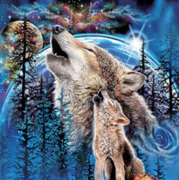 Wolves Harmony 1000 Piece Jigsaw Puzzle