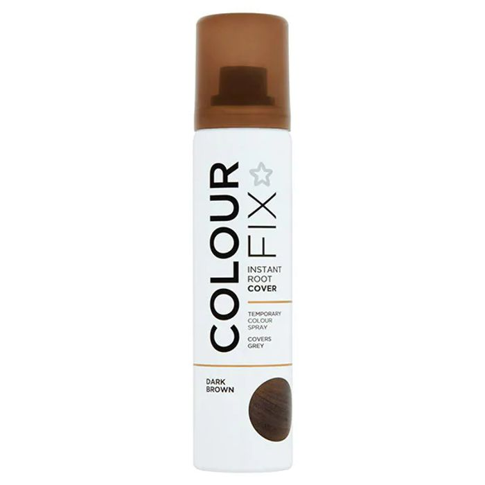 Superdrug Root Cover up Dark Brown 75ml BETTER than HALF PRICE