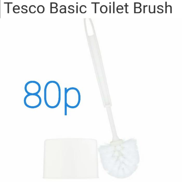 Cheap Tesco Basic Toilet Brush - Only £0.8!