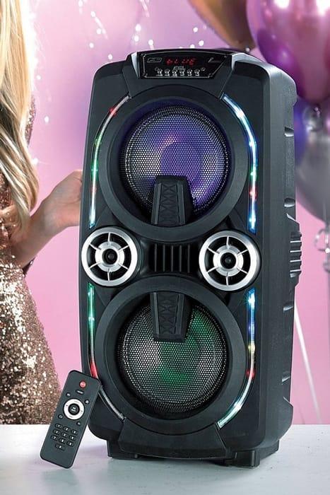 Special Offer! *HALF PRICE* Mega Bass Bluetooth Party Karaoke Speaker