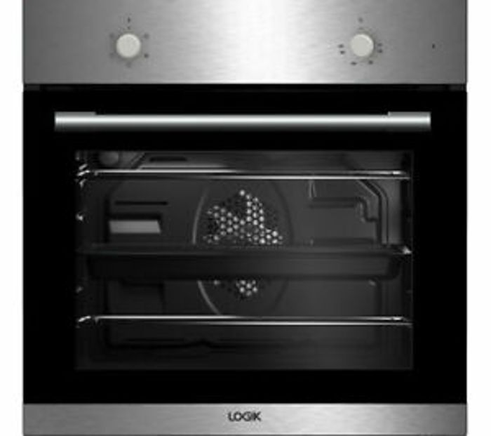 LOGIK LBFANX16 Electric Oven - Stainless Steel - Currys