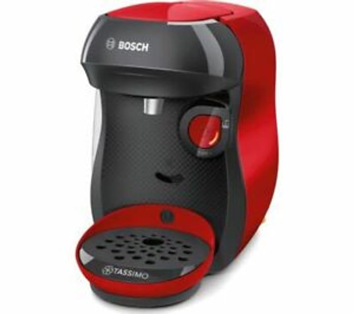 Cheap TASSIMO by Bosch Happy TAS1003GB Coffee Machine, reduced by £65!