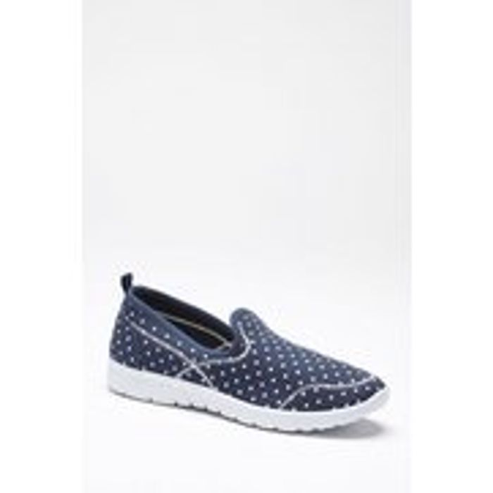 Sporty Slip-on Trainers