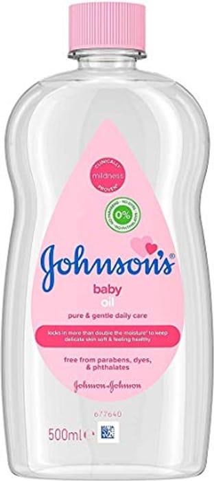 Best Ever Price! JOHNSON'S Baby Oil 500 Ml