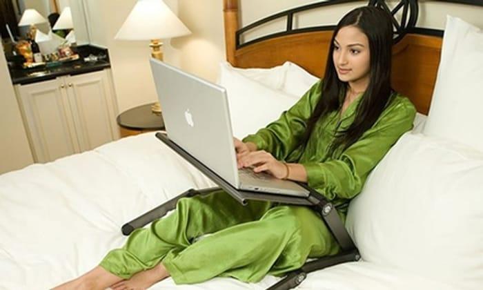 Jazooli Adjustable Folding Laptop Stand - Only £14.99!