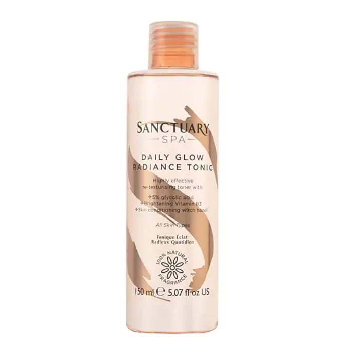 Sanctuary Spa Daily Glow Radiance Tonic Glycolic Toner 150ml