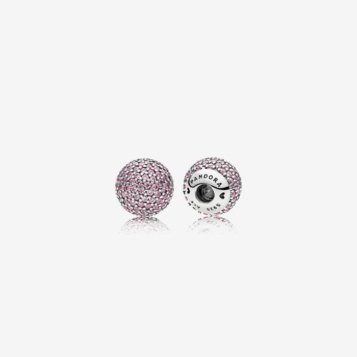 Pink Pave End Caps Down From £90 to £29