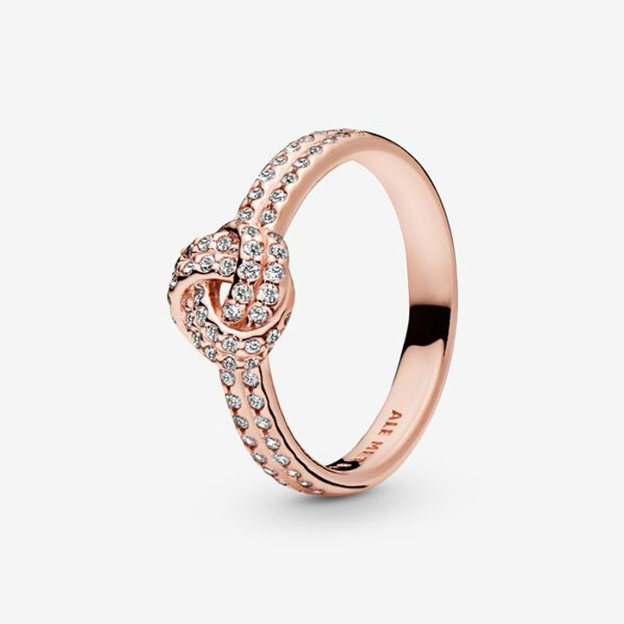 Shimmering Knot Ring Down From £80 to £25