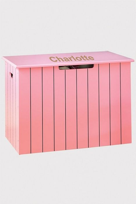 Cheap Personalised Panelled Toy Chest - Save £20!