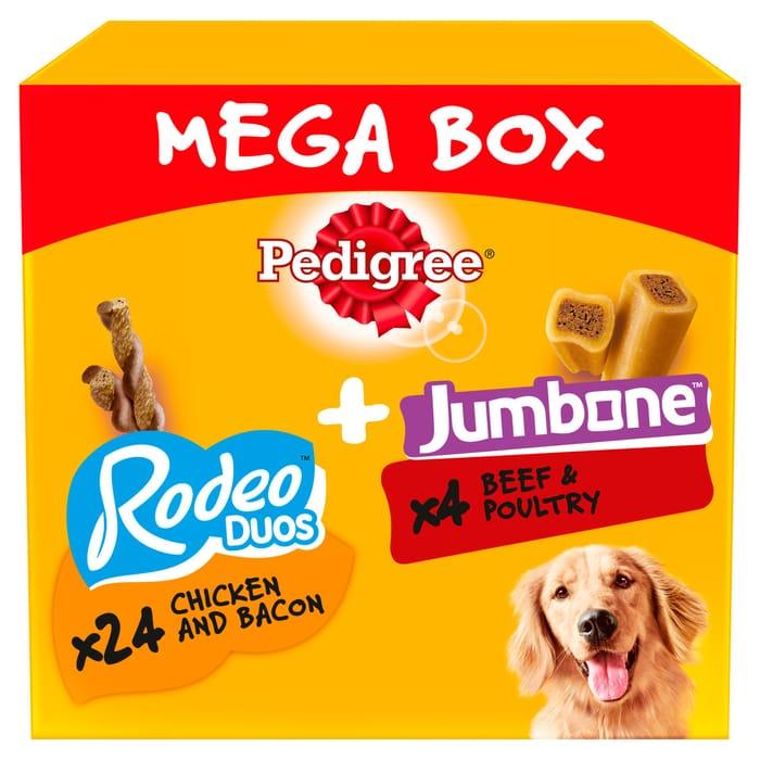 Pedigree Rodeo Duos & Jumbone Mega Box 780G