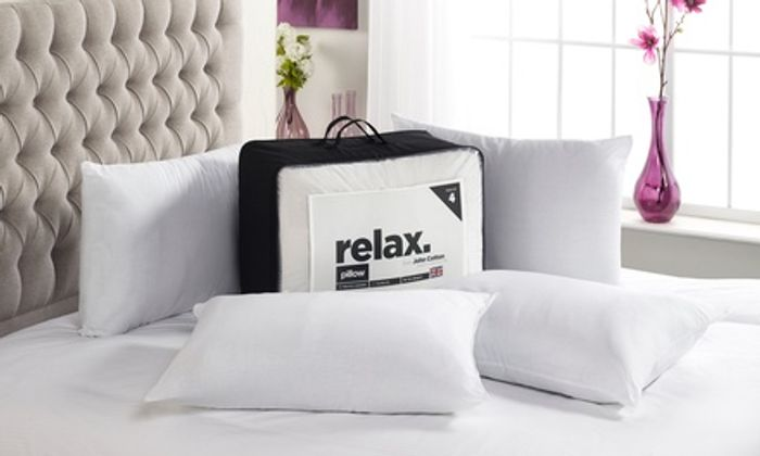 Relax Four-Pack of Pillows for £9