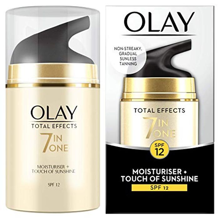 Best Price! Olay Total Effects 7-in-1 Touch of Sunshine Anti-Ageing Moisturiser