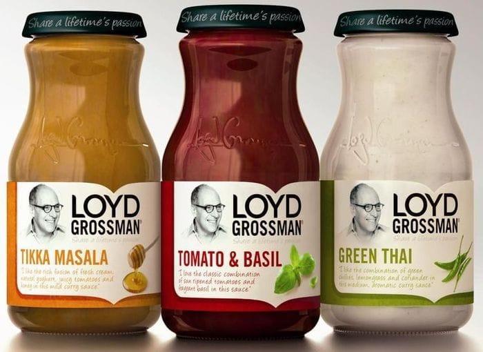 Loyd Grossman Various Pasta Sauces 350G - HALF PRICE!