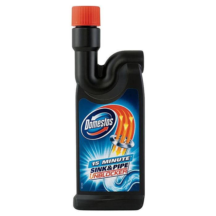 Domestos Sink and Pipe Unblocker 500ml