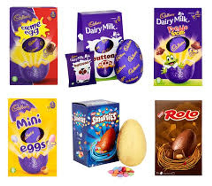 Medium Easter Eggs Any 2 for £1.50