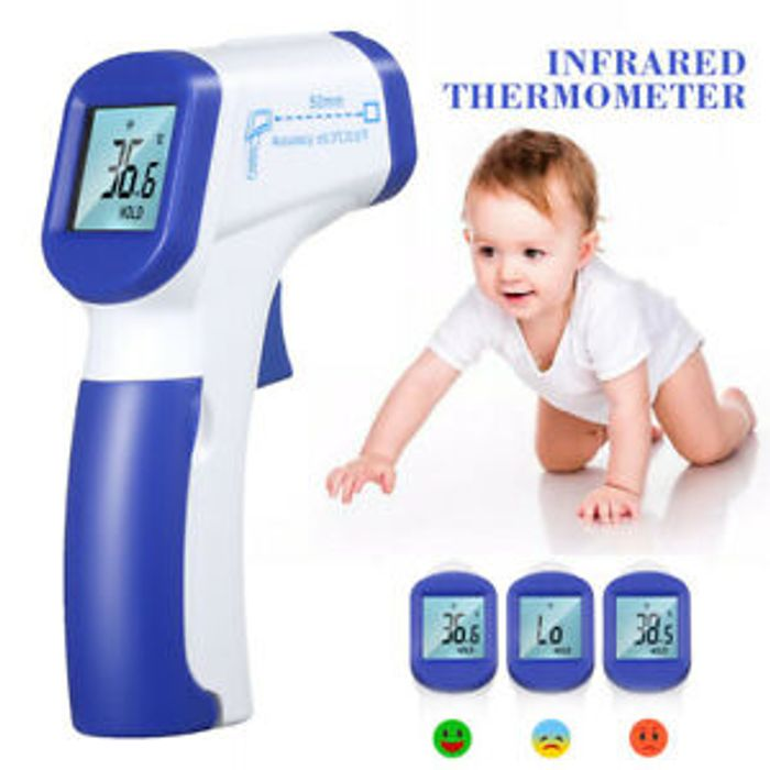 Cheapest One Digital LCD Thermometer Infrared Forehead