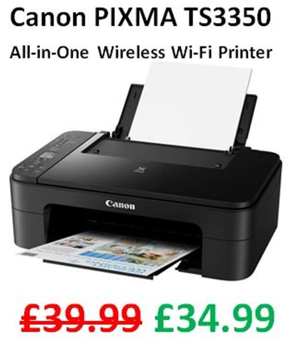 Canon PIXMA TS3350 All-in-One Wireless Wi-Fi Printer