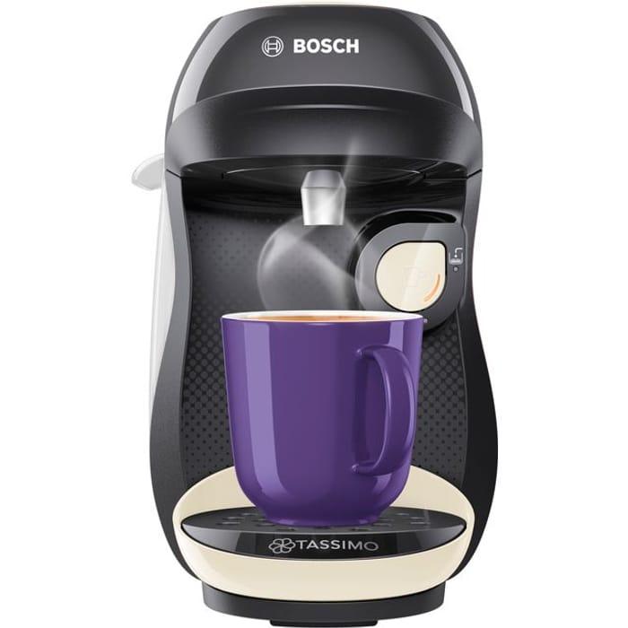 Best Price! Tassimo by Bosch Happy Pod Coffee Machine + FREE Gift