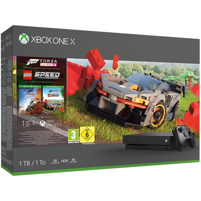 1tb Xbox One X Forza Horizon 4 Lego Speed Champions Bundle