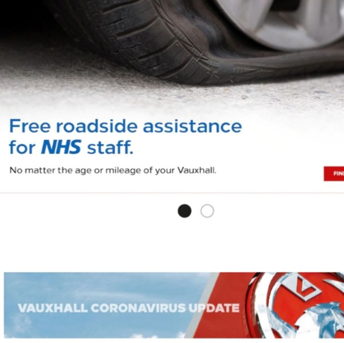 FREE Breakdown Cover to NHS Staff at Vauxhall (Any Vauxhall Vehicle)