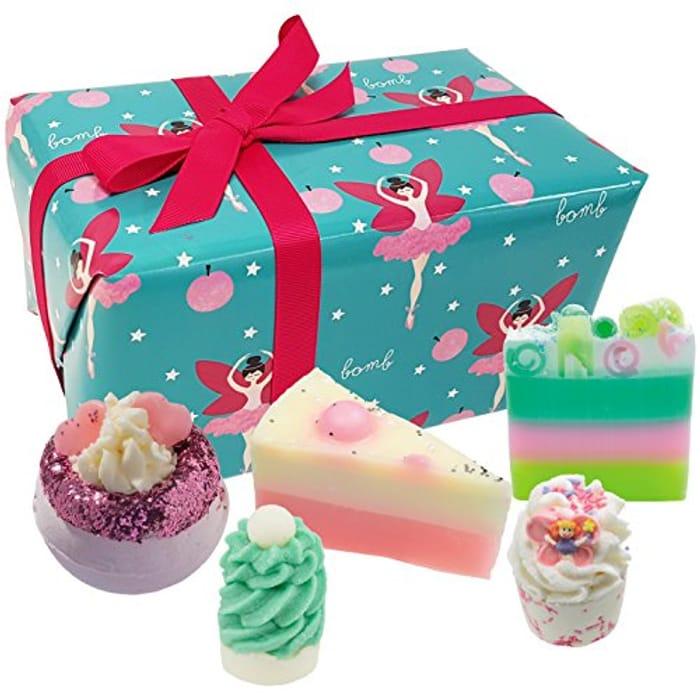 Bomb Cosmetics Sugar Plum Fairy Handmade Wrapped Gift Pack