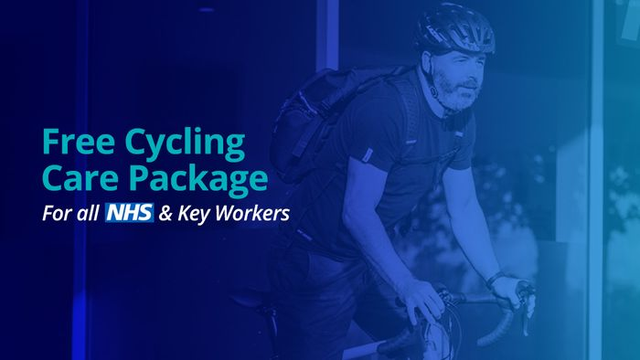 Free Cycling Care Package for NHS & Key Workers worth £100 at Freewheel
