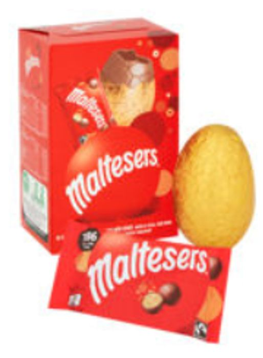 Maltesers Medium Milk Chocolate Easter Egg