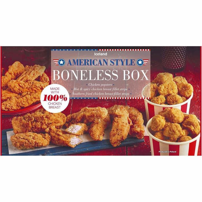 Cheap American Style Chicken Breast Boneless Box 500g - Only £3!