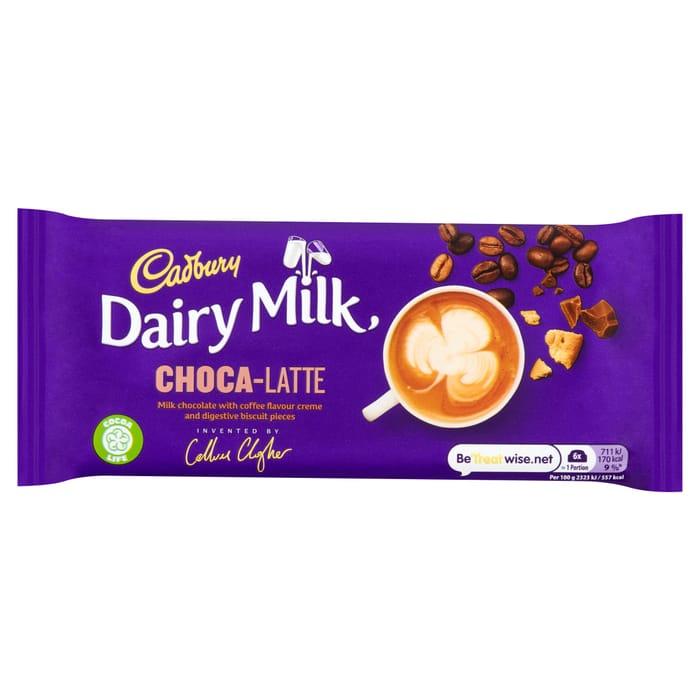Cadbury Dairy Milk Choca-Latte Chocolate 122.5G