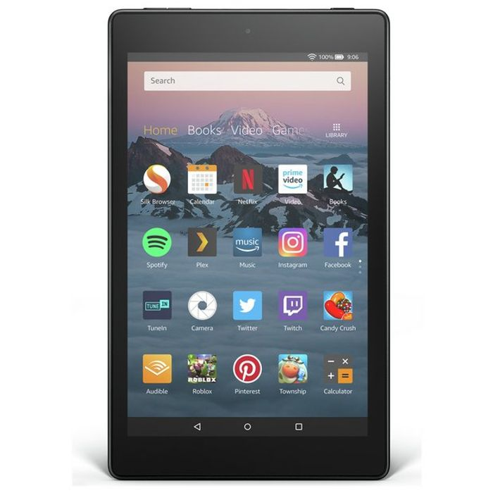 Amazon Fire HD 8 Alexa 8 Inch 16GB Tablet - Black