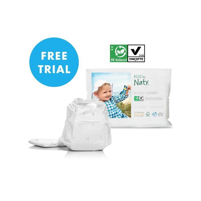 Free Eco Nappies Box Packed with Goodies