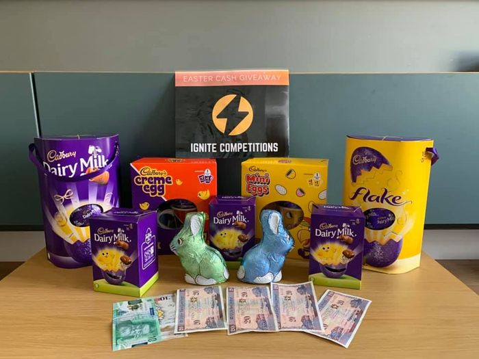 Win a Collection of Easter Eggs and Treats and £100!