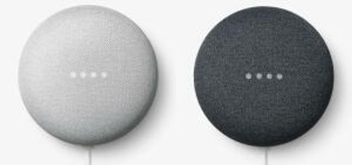 2 X Google Nest Mini 2nd Gen on Sale From £58 to £49