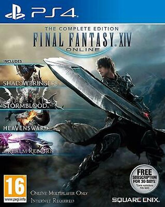 Cheap PS4 Final Fantasy XIV: The Complete Collection Only £21.99 at 365games