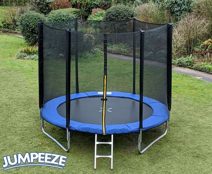 TRAMPOLINE WAREHOUSE Jumpeeze 8ft Trampoline - PRE-ORDER FOR MAY