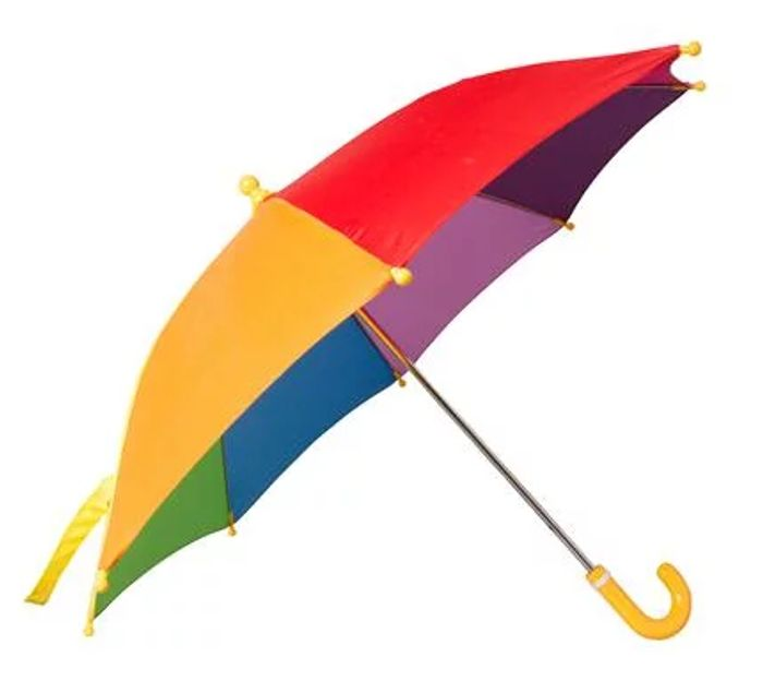 Kids Rainbow Umbrella Only £3.99 Delivered with Code