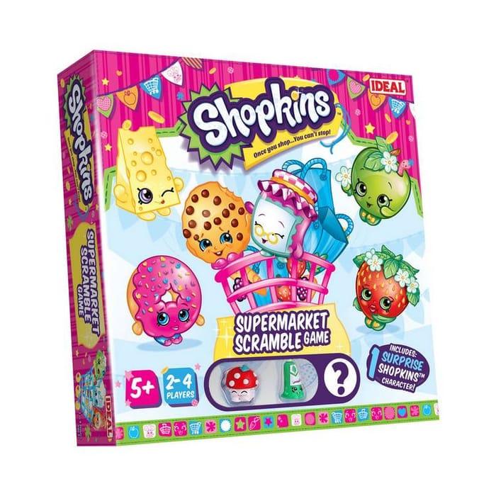 Shopkins Supermarket Scramble Game, Only £8.00!