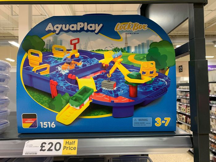 Half Price AquaPlay LockBox HALF PRICE