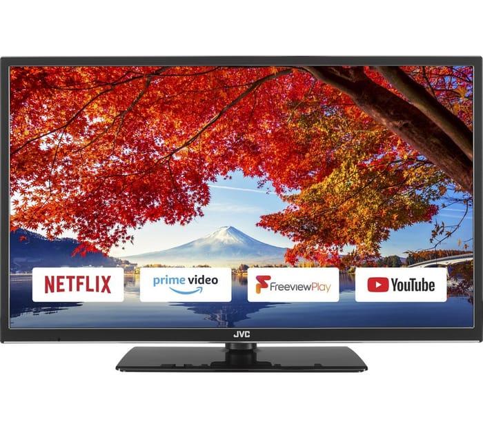 """*SAVE £31* JVC 32"""" Smart LED TV"""