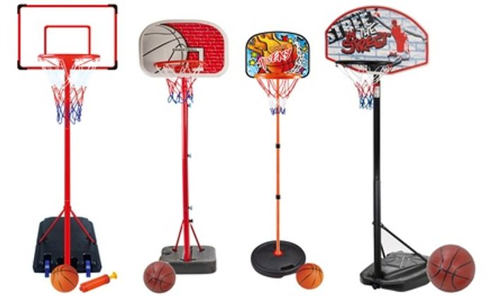 Kids' Basketball Set with Ball - Only £14.99!