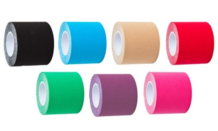 Up to 12 Rolls of Kinesiology Tape in Choice of Colour
