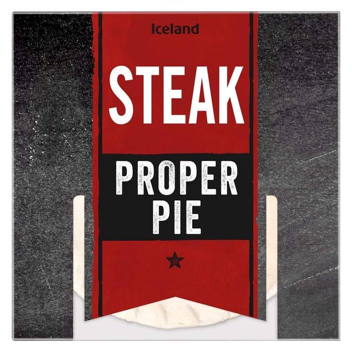 Iceland Steak Proper Pie 50%off